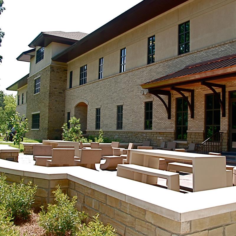LEED college building