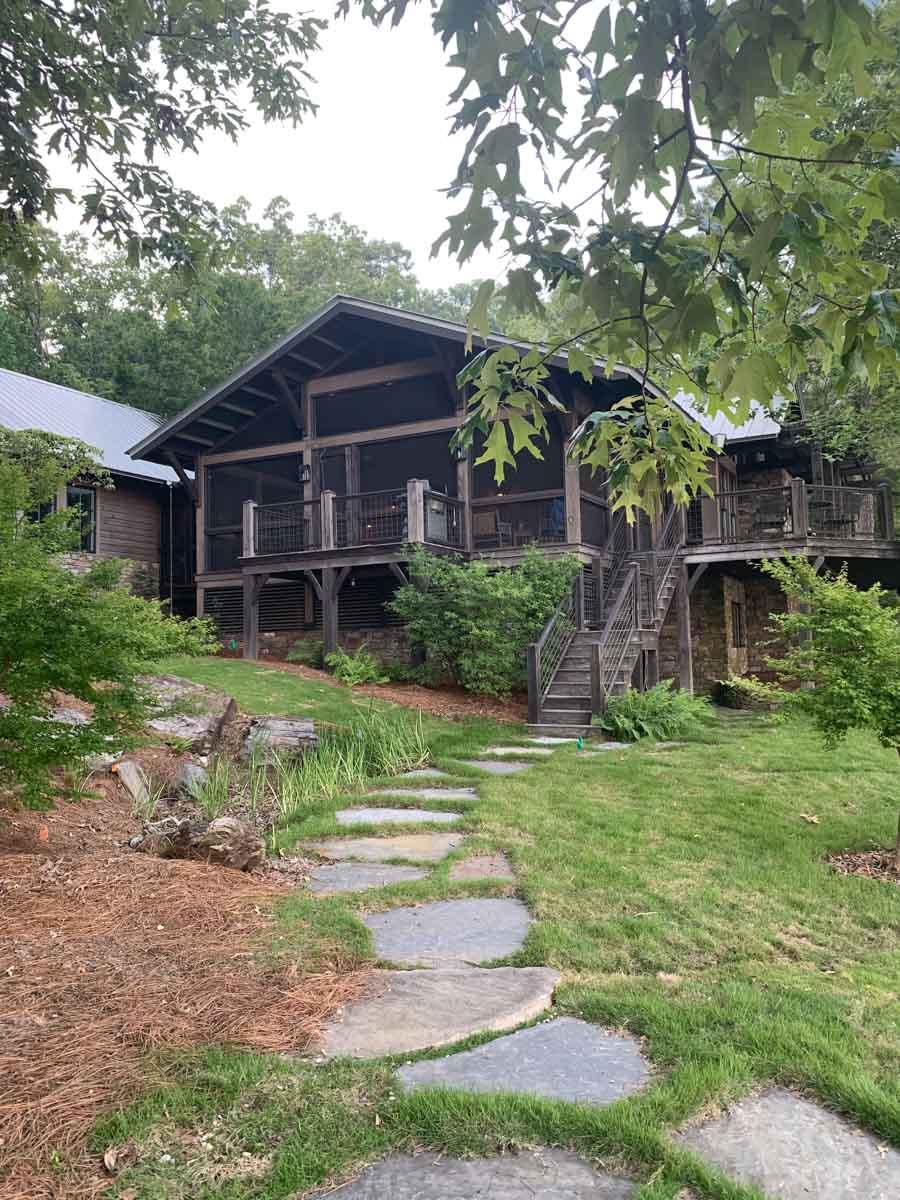 LEED cabin