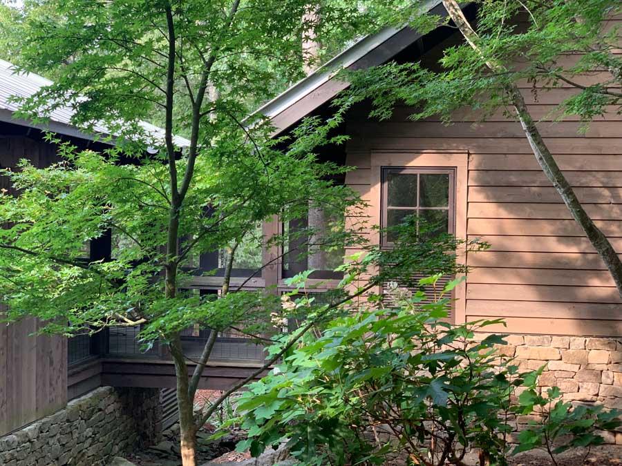 LEED lake house