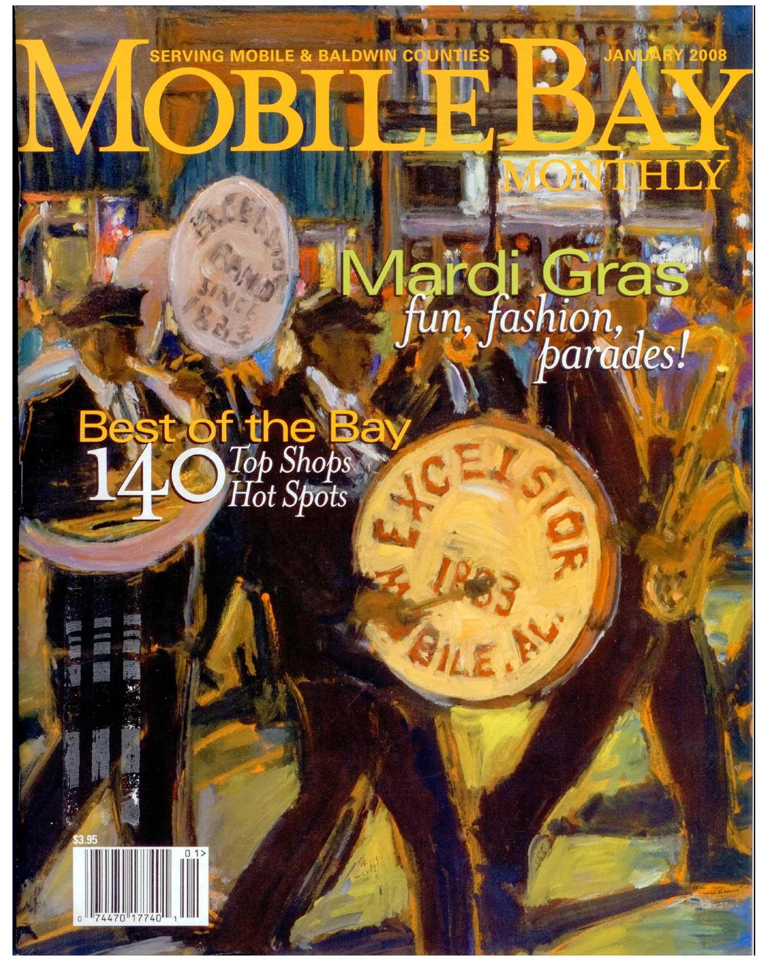 mobile bay magazine january 2008