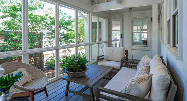 southern porches